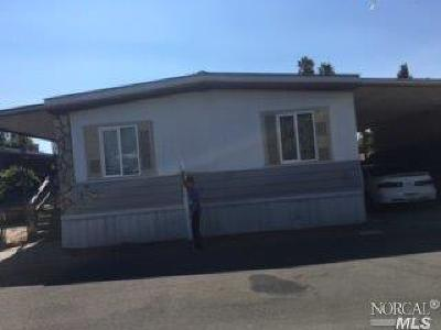 Santa Rosa Mobile Home For Sale: 114 Leasure Park Circle #114