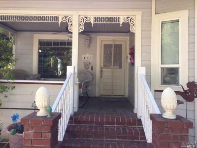 Vacaville Single Family Home For Sale: 425 West Street