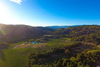 Napa County Farm & Ranch For Sale: 8322 Franz Valley Road