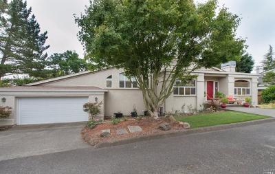 Petaluma Single Family Home For Sale: 601 Cherry Street