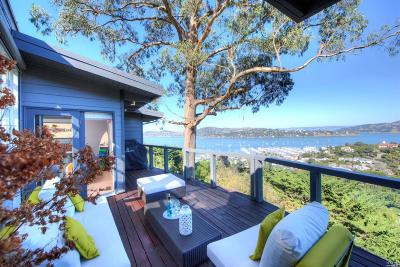 Sausalito CA Single Family Home For Sale: $3,695,000