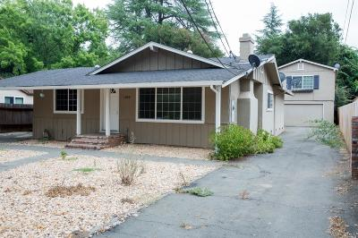 Napa Single Family Home For Sale: 1249 Monticello Road