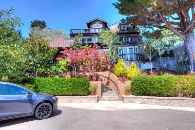 Mill Valley CA Single Family Home For Sale: $3,730,000