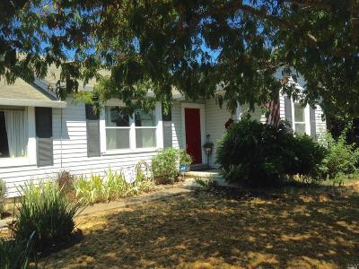 Napa County Single Family Home For Sale: 3006 Hagen Road