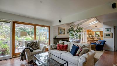 Mill Valley CA Single Family Home For Sale: $1,395,000