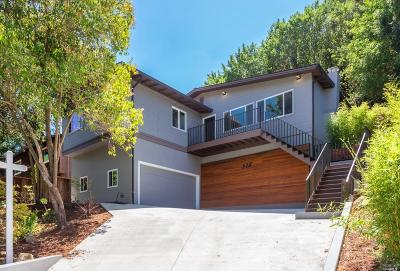 San Anselmo Single Family Home For Sale: 518 The Alameda