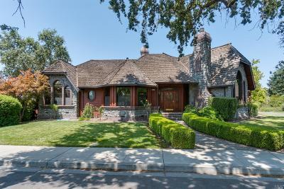 Sonoma Single Family Home For Sale: 300 Denmark Street