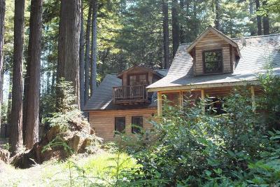 Mendocino Single Family Home For Sale: 42288 Comptche Ukiah Road