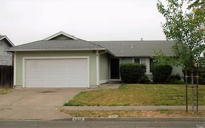 Napa Single Family Home For Sale: 4416 Summerfield Drive