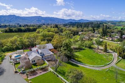Ukiah Single Family Home For Sale: 2975 Mill Creek Road
