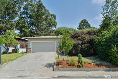 Mill Valley Single Family Home For Sale: 529 East Blithedale Avenue
