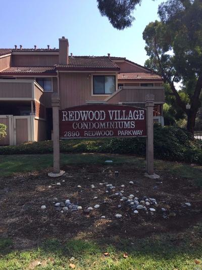 Vallejo Condo/Townhouse For Sale: 2890 Redwood Parkway #91
