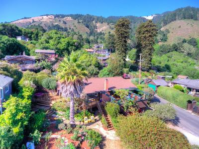 Stinson Beach Single Family Home For Sale: 55 Laurel Avenue