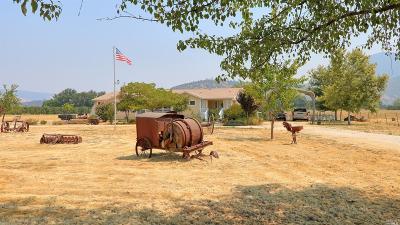 Lake County Farm & Ranch For Sale: 3750 Benson Lane