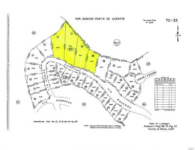 Marin County Residential Lots & Land For Sale: 94 Via Navarro Avenue