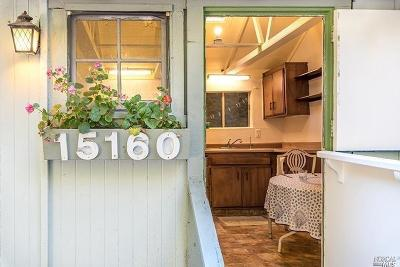 Guerneville Single Family Home For Sale: 15160 Willow Road