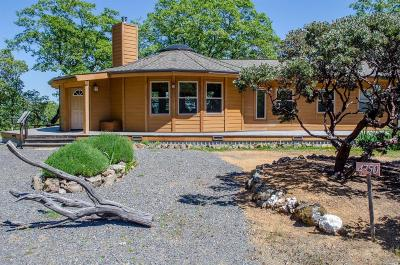 Ukiah Single Family Home For Sale: 4750 Orr Springs Road