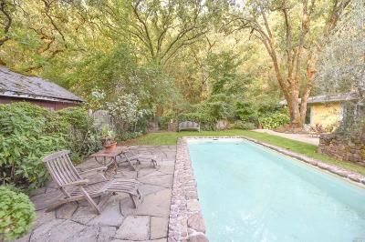 St. Helena Single Family Home For Sale: 461 Crystal Springs Road