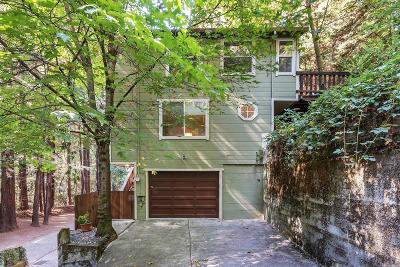 Guerneville Single Family Home For Sale: 15209 Canyon Seven