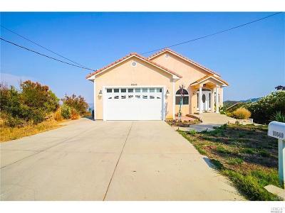 Kelseyville Single Family Home For Sale: 10649 Sunset Ridge Drive