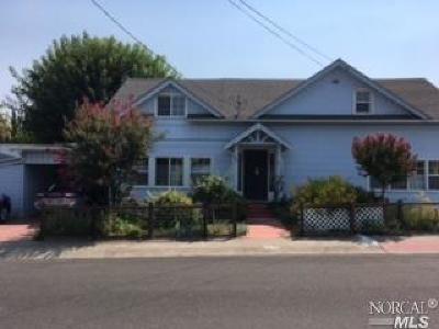 Ukiah Single Family Home For Sale: 600 Marshall Street