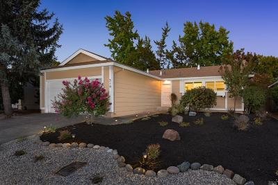 Healdsburg Single Family Home For Sale: 316 Mountain View Drive