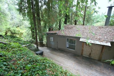 Guerneville CA Single Family Home For Sale: $189,000