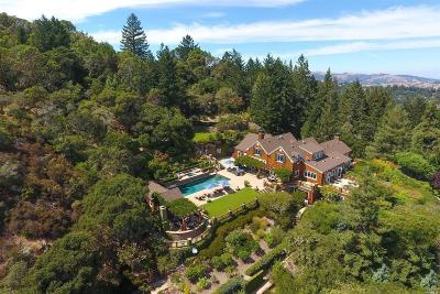 Kentfield Single Family Home For Sale: 351 Evergreen Drive