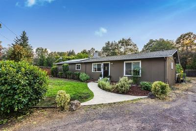 Redwood Valley Single Family Home Contingent-Show: 2270 Road K