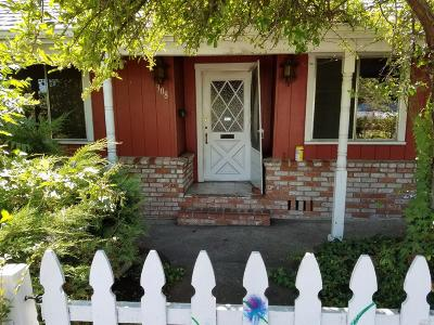 Willits CA Single Family Home For Sale: $180,000