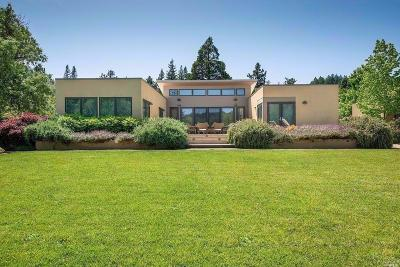 Healdsburg Single Family Home For Sale: 2252 W Dry Creek Road