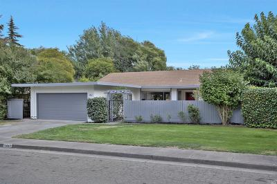 Sonoma Single Family Home For Sale: 1267 Mission Drive