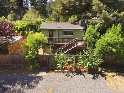 Monte Rio Single Family Home For Sale: 20274 Alder Road