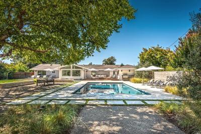Napa CA Single Family Home For Sale: $2,775,000