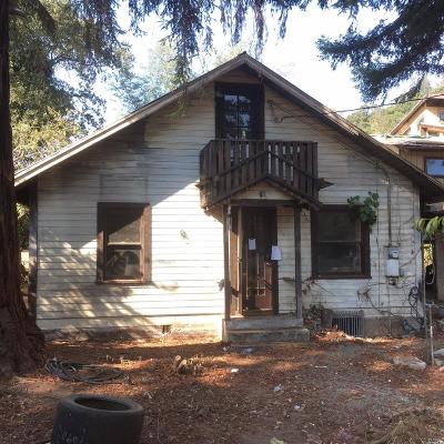St. Helena Single Family Home For Sale: 116 Rose Lane