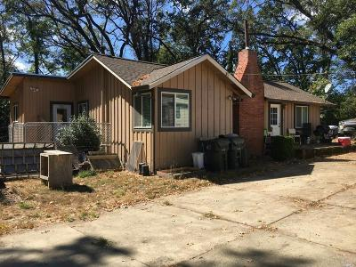 Willits Single Family Home For Sale: 455 Fort Bragg Road