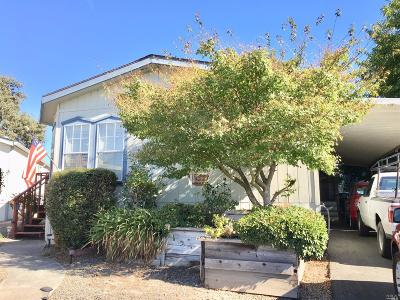 Santa Rosa Mobile Home For Sale: 1130 Adrienne Way #1130