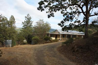 Covelo Single Family Home For Sale: 3100 Eel River Ranch Road