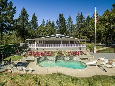 Sonoma County, Mendocino County, Marin County, Napa County, Lake County Single Family Home For Sale: 23620 Dutcher Creek Road