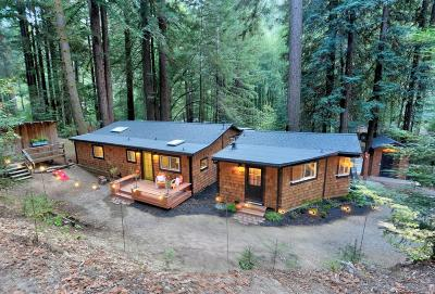 Cazadero CA Single Family Home For Sale: $749,000
