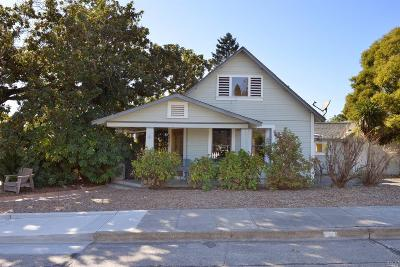 Healdsburg Single Family Home For Sale: 801 Johnson Street
