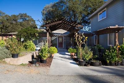 Ukiah Single Family Home Contingent-Show: 2825 Oak Court Road