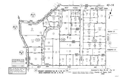 Napa Residential Lots & Land For Sale: 2845 Carlos Street
