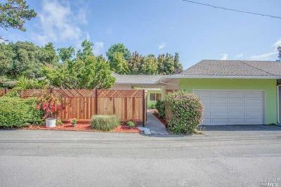 Tiburon Single Family Home For Sale: 20 Pine Terrace