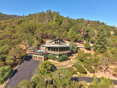 Ukiah Single Family Home For Sale: 4 Lookout Drive
