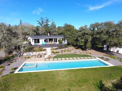 Healdsburg Single Family Home For Sale: 15586 Pozzan Road
