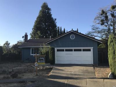 Sonoma Single Family Home For Sale: 950 Arguello Court
