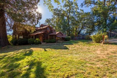 Mendocino County Single Family Home For Sale