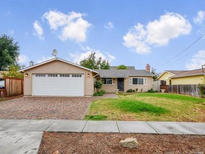 Napa Single Family Home For Sale: 131 Hickory Street