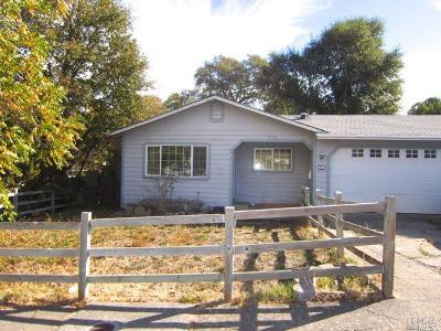Willits Single Family Home For Sale: 379 McKinley Street